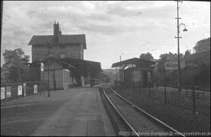 Bf-Ennepetal-Empfangsgebäude - 1954
