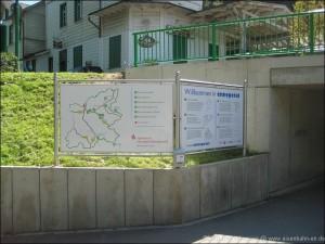 Willkommensschild am Bahnhof Ennepetal