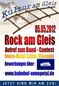 Aufruf-Band-Contest-Plakat