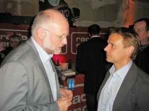Experten unter sich, Dr. Michael Peinger im Gespräch mit Olaf Thon