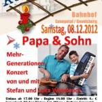 Mehrgenerationenkonzert Papa&Sohn