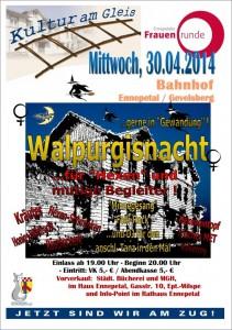 Plakat Walpurgis